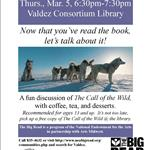 poster for Big Read Book Club